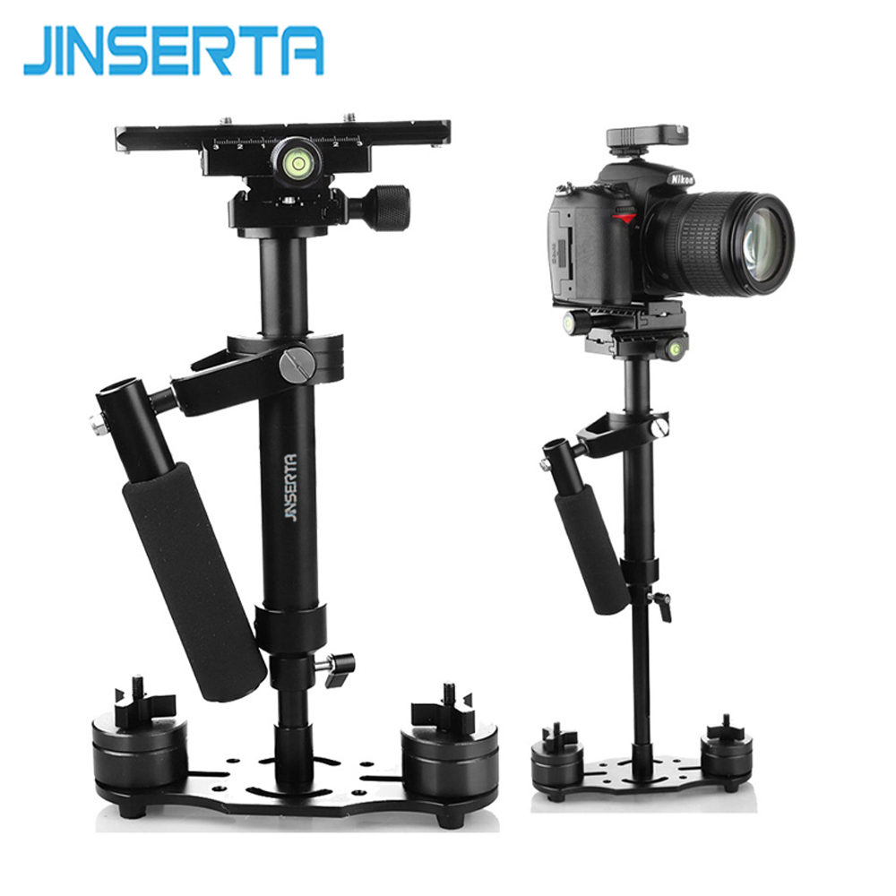 JINSERTA S40 40cm Professional Handheld Stabilizer Steadicam for Camcorder Digital Camera Video Canon Nikon DSLR Mini Steadycam mcoplus professional handheld stabilizer video steadicam for digital hdslr dslr rig shoulder mount dv camera camcorder