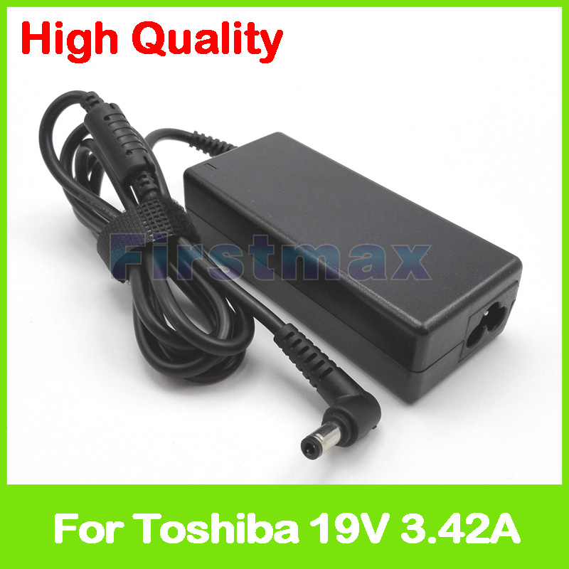 19V 3.42A laptop AC adapter charger for Toshiba Satellite Pro A200 A210 A300 A300D A30T-C-111 C650 C650D C660 C70-C C840 C850