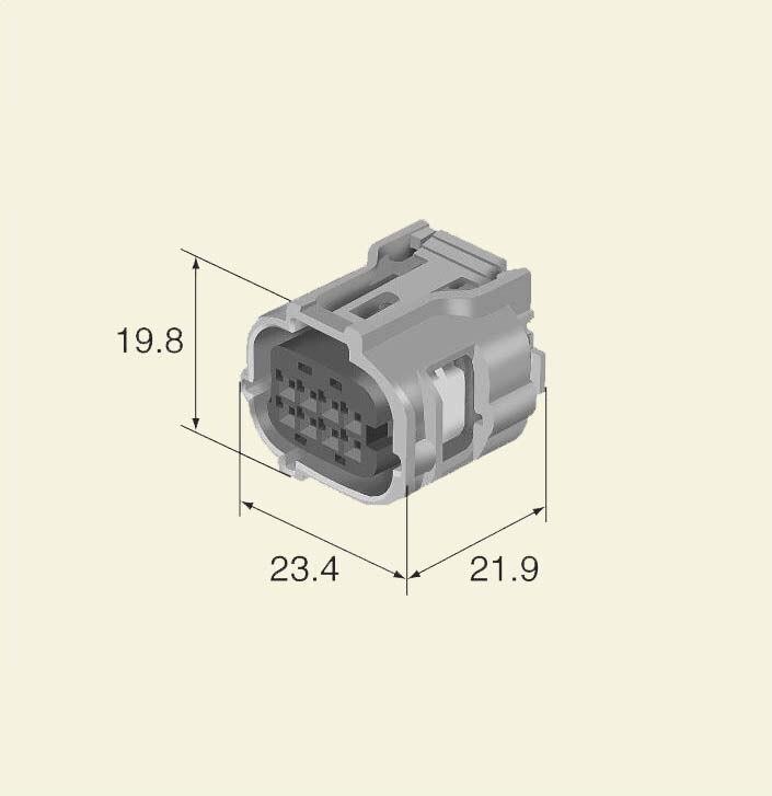 US $15.99 |6189 1240 8 pin wire harness gray sealed automotive for on kubota wiring, cooper wiring, denso wiring, toyota wiring, ford wiring, massey ferguson wiring, bosch wiring, john deere wiring, delta wiring,