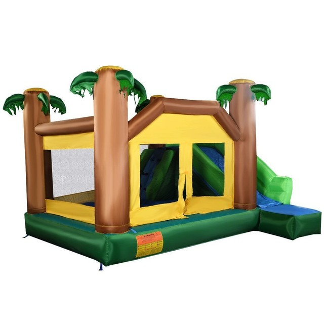 usa delivery inflatable moonwalk jungle bounce house jumper bouncy