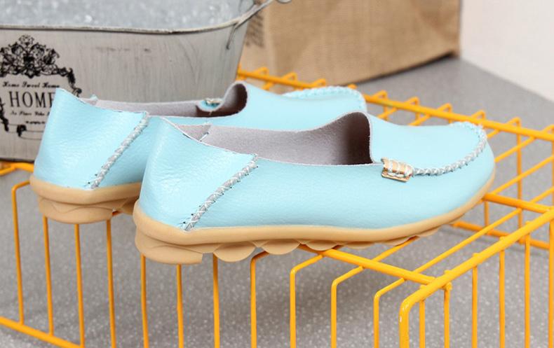 AH912 (14) women's loafers shoe