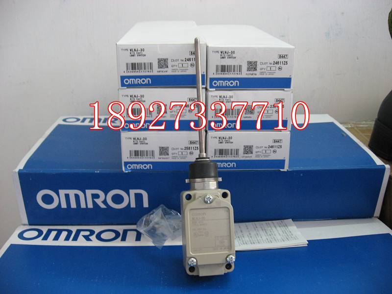 [ZOB] Supply of new original Omron omron limit switch WLNJ-30 factory outlets [zob] supply of new original omron omron photoelectric switch e3z t61a 2m factory outlets 2pcs lot