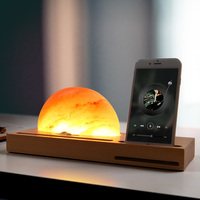 Sunrise Resin Lamp Ambient Meditation Light Wireless Charger Pen Cell Phone Holder TB Sale