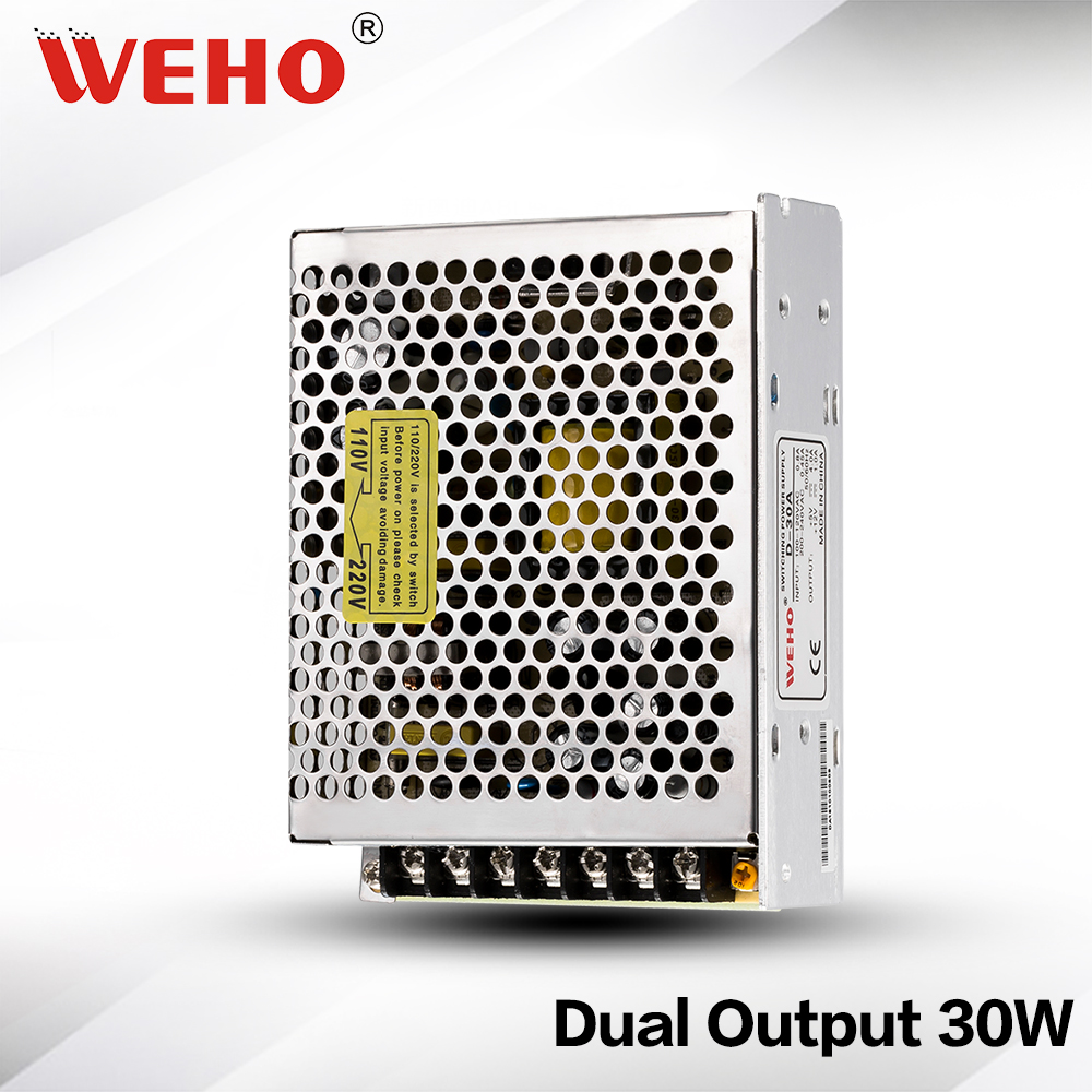 ✅(D-30C) 30W SMPS Dual output 12V -12V switching power supply 30W ...