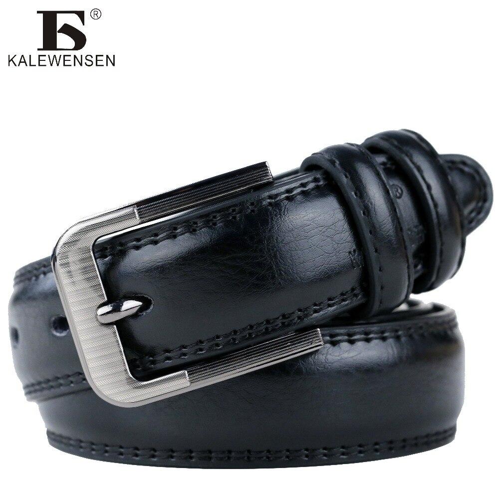 2017 mens kuh echtes leder luxus strap männlich gürtel für männer runde klassische cintos masculinos 3,5 cm laser schnalle LJ010