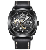 PAGANI DESIGN brand special offer 2019 hollow skeleton leather watches men luxury mechanical male clock new Relogio Masculino