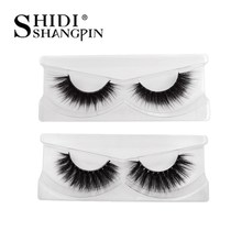 NEW real 100% thick 3d mink lashes handmade false eyelashes natural long eye lashes extensions makeup maquiagem faux cils cilios