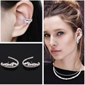 Famous Brand Big Star Love Stud Earrings Hallow Out Round Zircon Earings Punk Ear Studs Fashion Jewelry For Women Girls WE166