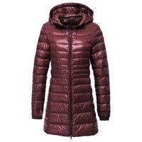 NIBESSER 2017 Plus Size 6XL Winter Warm Hooded Down Parkas Women Fashion Ukraine Basic Jacket Slim