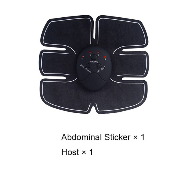Smart EMS Electric Pulse Treatment Massager Abdominal Muscle Stimulator Hips Muscle Stimulator Replacement  Gel Pads 2
