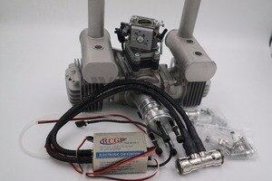 Image 5 - RCGF 70cc двухцилиндровый бензиновый/бензиновый двигатель для радиоуправляемого самолета
