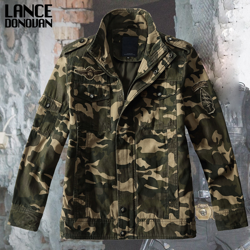 Camouflage jackets men Hot selling army green military jacket fashion coat outwear HOT Tactical clothing
