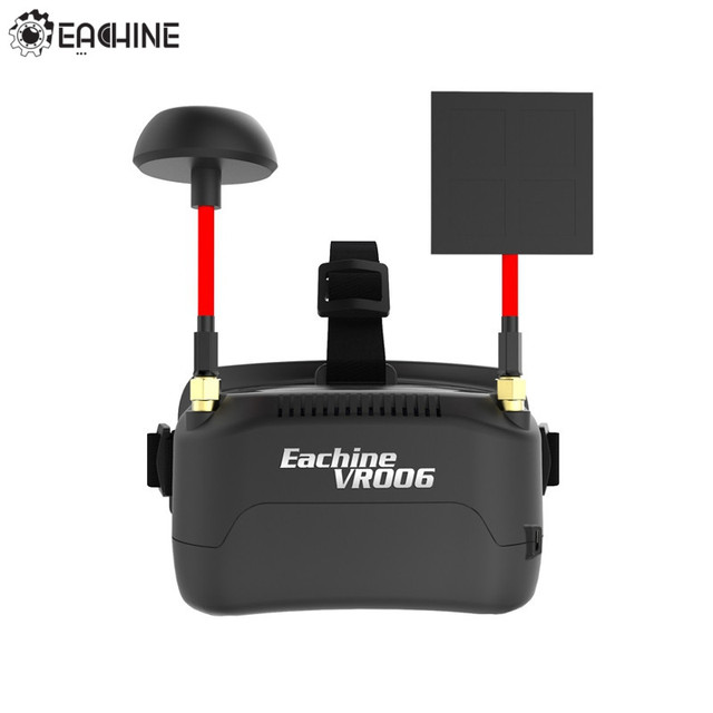 In Stock!! Eachine VR006 VR-006 3 Inch 500*300 Display 5.8G 40CH Mini FPV Goggles Build in 3.7V 500mAh Battery