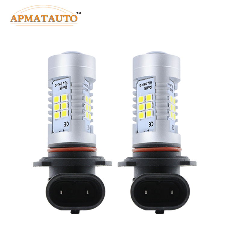 2x White <font><b>LED</b></font> H11 <font><b>H8</b></font> H10 9145 HB3/9005 9006/HB4 H16 <font><b>LED</b></font> High Power 21SMD Car <font><b>Auto</b></font> Driving Daytime Running Light Lamp Fog Bulbs
