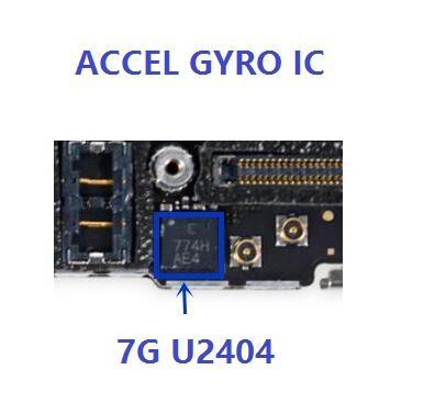 U2401 U2404 for iPhone 7 plus 7Plus Gyro Gyroscope Accelerometer ic chip ACCEL & GYRO MPU-6900