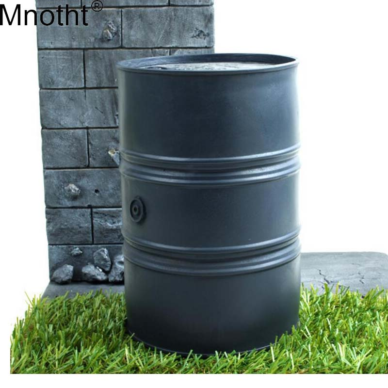 Mnotht 1/6 Warehouse P0011 Oil Drums Store Toy Scene Fuel fireproof wehrmacht Gasoline Model For 12 Soldier Action Figure