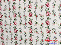High Quality flower pattern Faux PU Leather fabric for DIY sewing sofa table shoes bags bed material(1 yard)