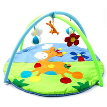 Cartoon Soft Baby Play Mat Kids Rug Floor Mat Boy Girl Carpet Game Mat Baby Activity Gym Mat For Children Educational Toy цена