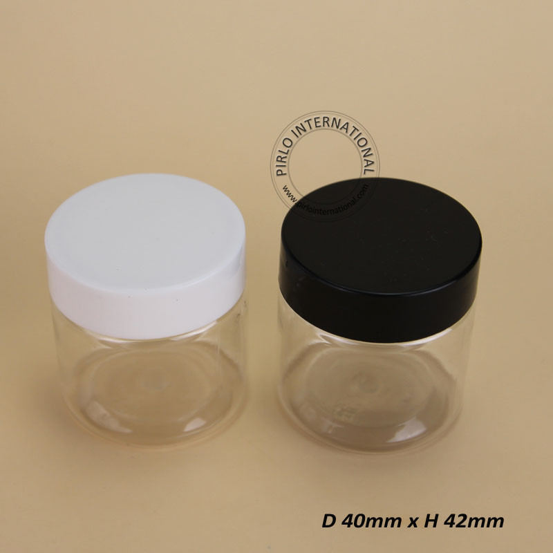 50pcs/lot Promotion New Arrival 30g Empty Transperent Plastic Cream Jar,Cosmetic Container Women Cosmetic Bottle Refillable Vial