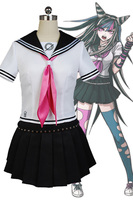 Super DanganRonpa Ibuki Mioda Cosplay Costume For Women Girls Full Set
