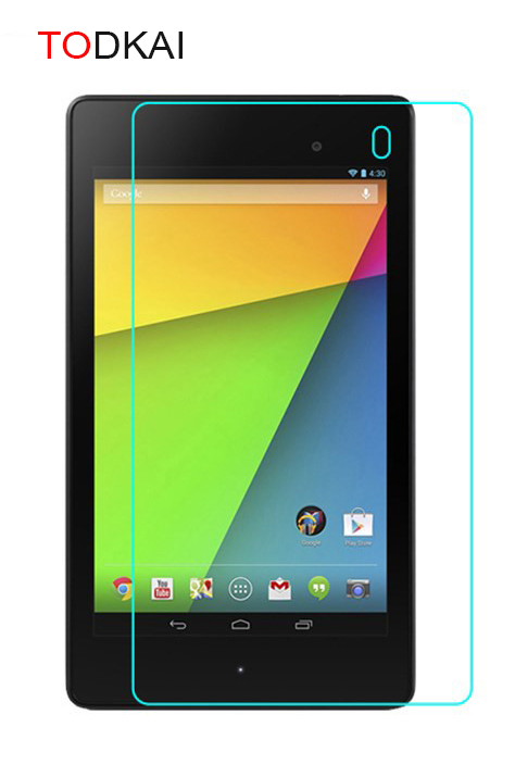 Tempered Glass Screen Protector Film For Google Nexus 7 2nd 2 Gen II Two 2013 7