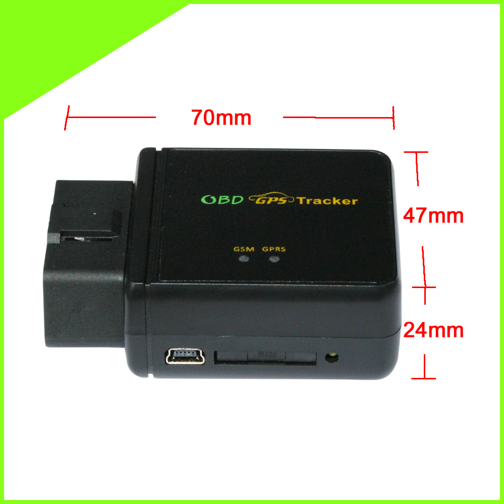 OBD 3G Tracker GPS Car Google Maps Tracking CCTR-830G Built In Move Sensor Over Speed Alarm Free Android & Ios APP Track