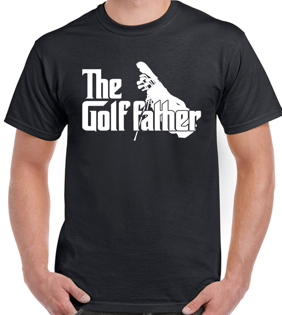The Golfer Father Mens Funny T-Shirt Fathers Day Birthday Golfer Golfing Golfather