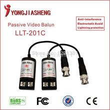 10pcs/5pairs Free Shipping Twisted BNC CCTV video balun passive transceiver UTP balun