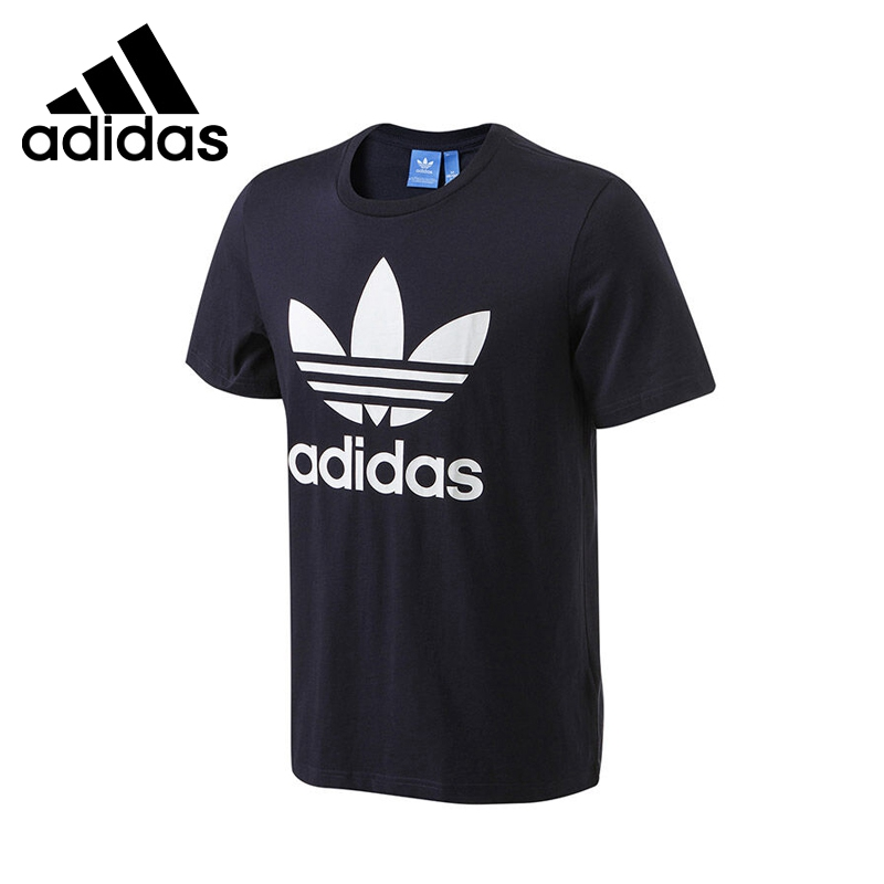 ФОТО Original New Arrival 2017 Adidas Originals Men's ORIG TREFOIL T T-shirts short sleeve Sportswear