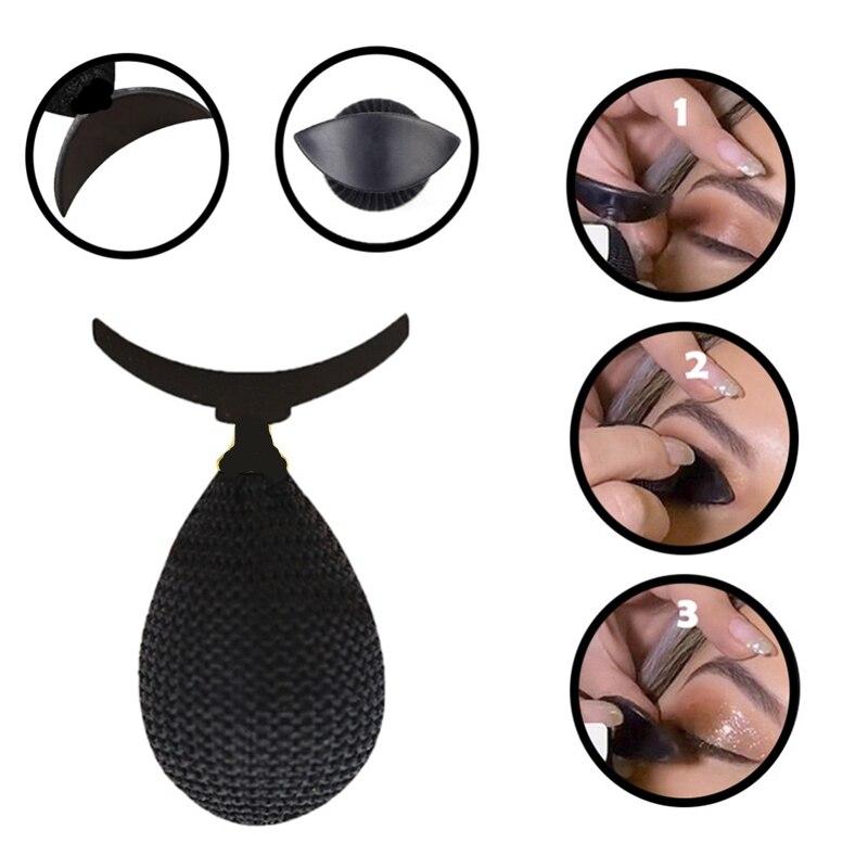 Beauty Fashion Eye Magic Eyeshadow Stamp Crease Lazy Makeup Applicator Eyes Makeup Stencil Tools(China)