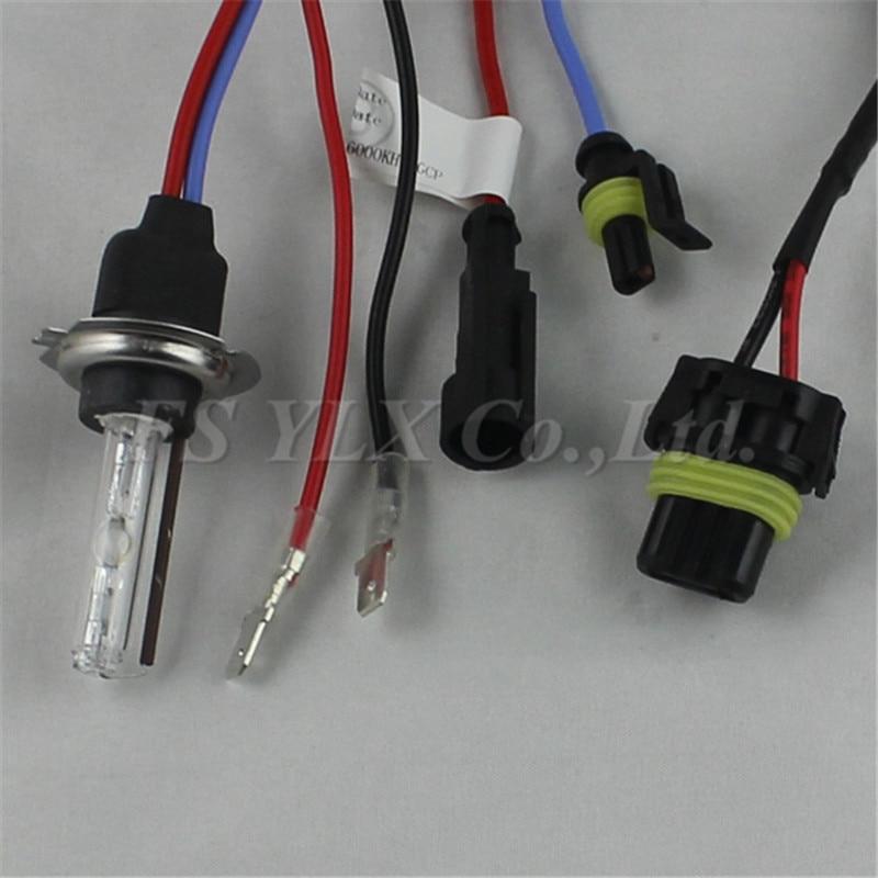FSYLX 55 Вт H7 ксеноновые лампы HID ксенон головной светильник автомобиля h7 ксенон головной светильник лампа 4300K 5000K 6000K 8000K 10000k