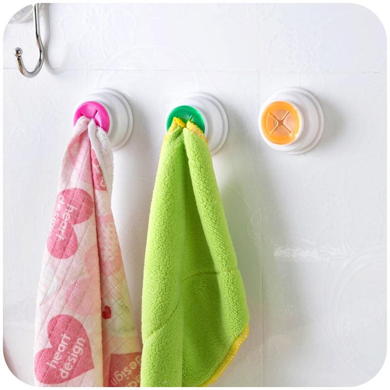Dishcloth Hanger: Creative Convenient Kitchen Cloth Clips Towel Pegs Non