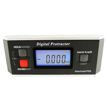 Digital Protractor Angle Finder Level Magnetic V-Groove 0~360 degree with Backlight Industrial Automotive Use Inclinometer