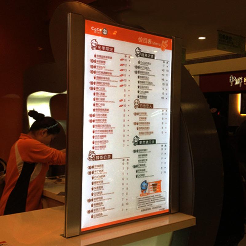 LED menu board signs