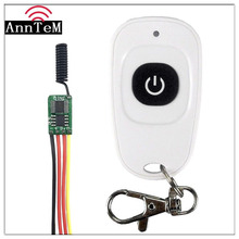 Wireless Remote Control Switch 433mhz rf Transmitter Receiver kit 3.7v 5v 6v 9v 12v Battery Power Mini Small Controller Module