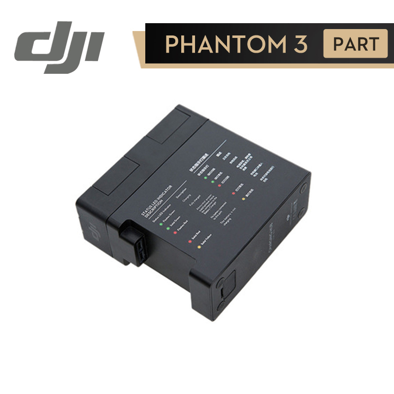DJI Phantom 3 Battery Charging Hub Power Management for Phantom3 Series Charger Original Accessories dji phantom 3 car charger battery