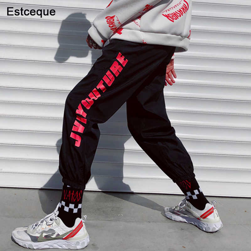 2019 New Fashion Joggers Pants Female Hip Hop High Waist Loose Harem Pant Women Slim Casual Pant Girl Friend Trouser Couple Wear