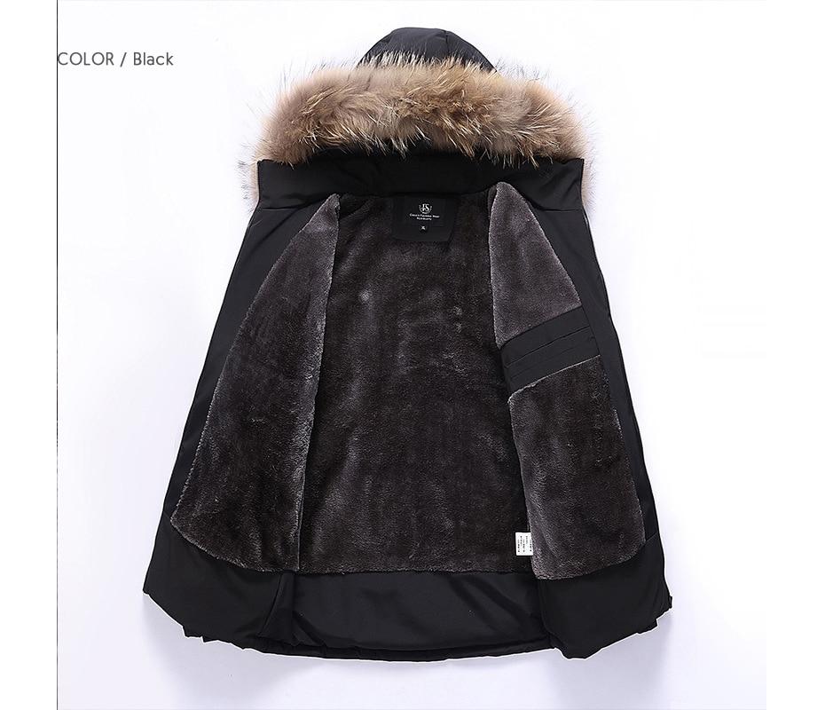 men winter padded jacket