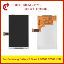 """ที่มีคุณภาพสูง4.0 """"สำหรับSamsung Galaxy S Duos 2 S7580 S7582จอแอลซีดีแสดงผลด้วยหน้าจอสัมผัสDigitizerแผงเซ็นเซอร์+รหัสติดตาม"""