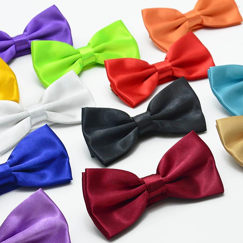 Mens Plain Bowties Womens Tuxedo General Party Neckties Butterfly Jacquard Bowtie 42 Colors 200pcs