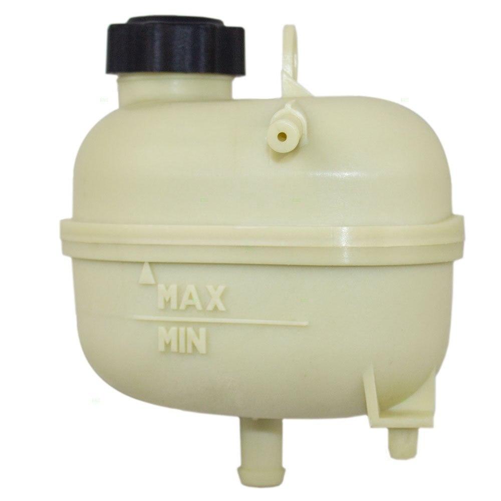 Réservoir d'expansion de bouteille de récupération de réservoir de débordement de liquide de refroidissement avec remplacement de capuchon pour MINI 17137529273