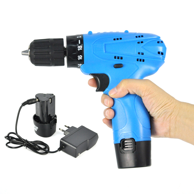 Cordless Electric Screwdriver BORUiT Mini Electric Drill Multi-function Power Tools with 12V Rechargeable Lithium Battery 12v 1300rpm electric screwdriver li battery rechargeable multi function 2 speed cordless electric drill power tools box