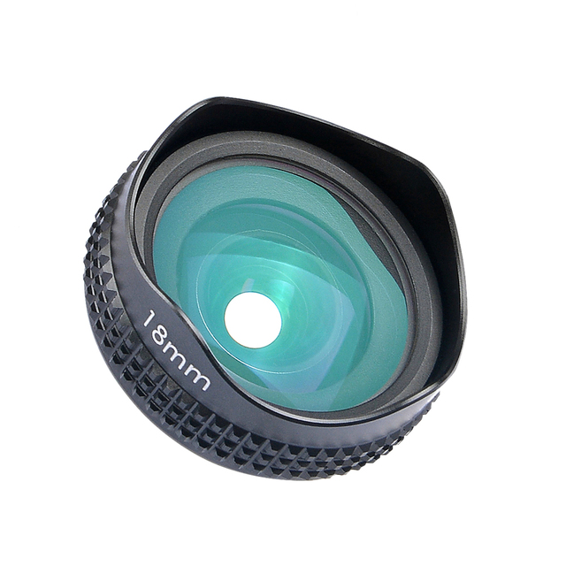 Apexel Optic Pro Lens 18MM HD Wide Angle Cell Phone Camera Lens Kit 2X More Landscape for Android IOS Smartphones 18M 1