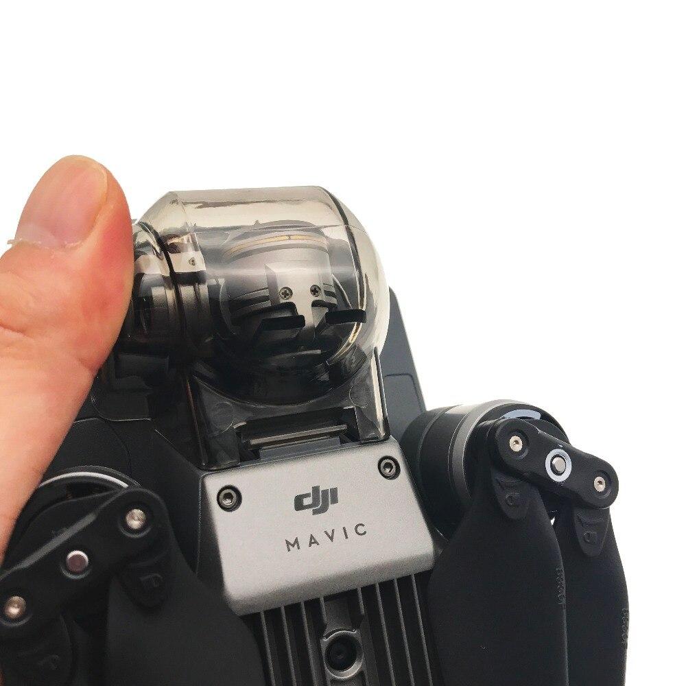 Transparent Grey Gimbal Camera Cover Protector Holder for DJI font b Mavic b font font b