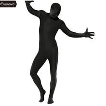 Ensnovo мужской костюм зентай из лайкры на все тело, облегающие костюмы из спандекса, нейлоновое боди, костюм на Хэллоуин для мужчин