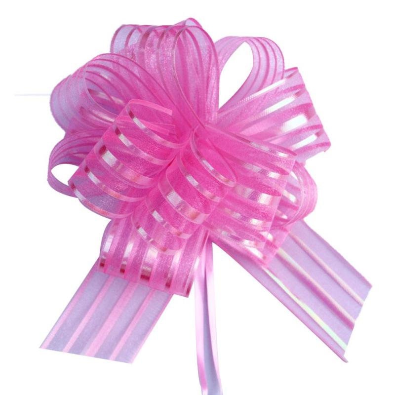Pull Flower Ribbon Bow Gift Wrap Candy Box Accessories Diy Wedding
