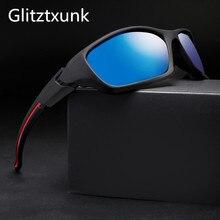 Glitztxunk Fashion Polarized Sunglasses Men Luxury Brand Designer Vintage Sport Driving Sun Glasses Male Goggles Shadow UV400
