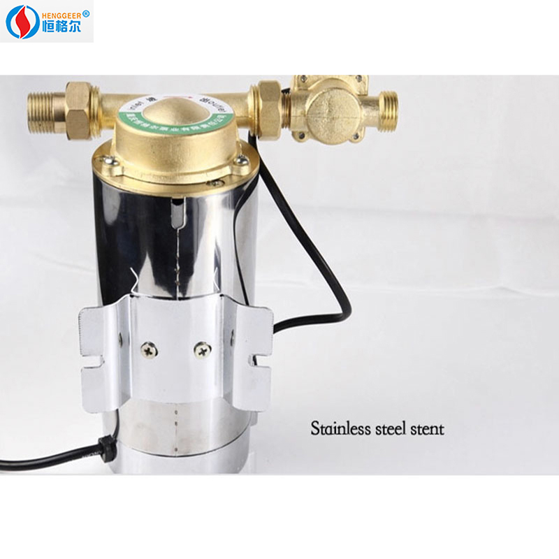 100w Household automatic mute booster pump for water heaters 100w 220v shower booster water pump