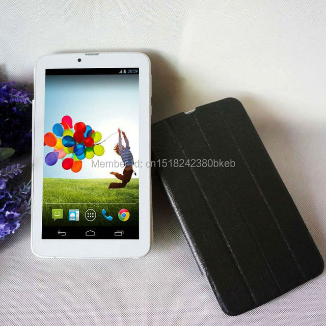 "7 pulgadas 3g android tablet pc tab pad dual core 16 gb almacenamiento de Doble Tarjeta SIM WIFI Bluetooth GPS OTG El Más Barato 7 ""Phablet"
