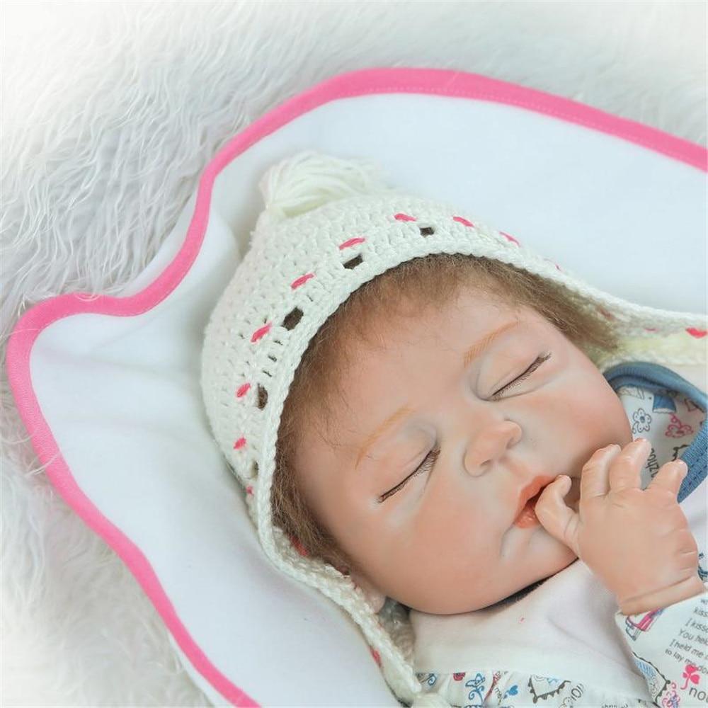 Generous Npk Doll Bebes Reborn 2357cm Fake Baby Girl Boy Full Silicone Reborn Baby Dolls For Children Xmas Gift Can Bathe Boneca Rapid Heat Dissipation Dolls & Stuffed Toys
